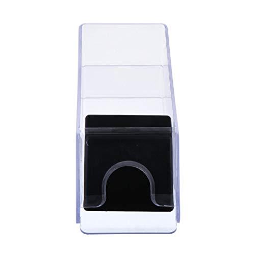 non-brand Repartidor Cartas Distribuidor de Poker Juego de Mesa 4 Mazos de Cartas - Blanco