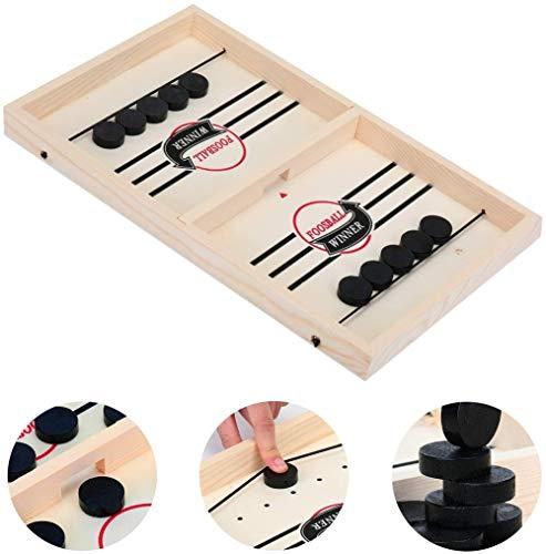 YLWZZ Juego de tablero de juegos de lanzamiento rápido para niños y adultos, Winner Board Toys, (56 x 30 x 3,8 cm)