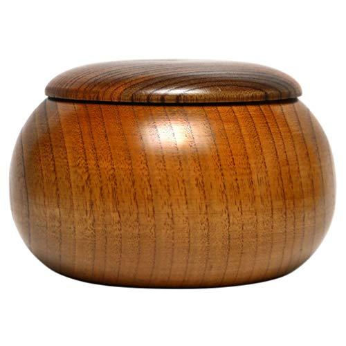 Cabilock Go - Cuenco para juegos de ajedrez (bambú, madera)