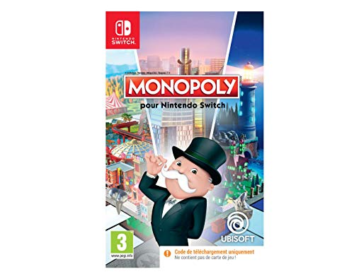 Monopoly Code In Box - Nintendo Switch [Importación francesa]