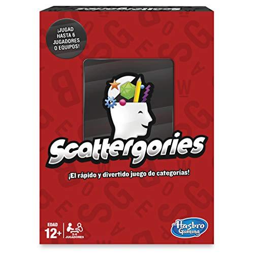 Hasbro Gaming- Scattergories Hasbro Juego de Mesa (Versión Española), Multicolor (C1941105)