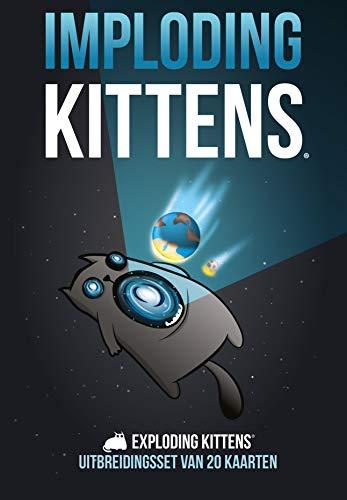 Exploding Kittens Juego de cartas Imploding Kittens- Expansión (NL)