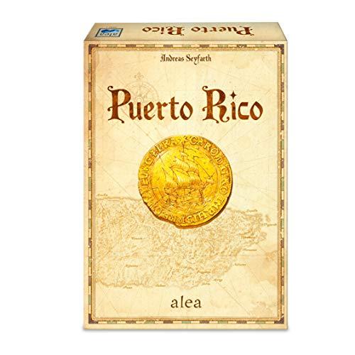 Ravensburger Puerto Rico - Versión española, Strategy Game, 2-5 Jugadores, Edad recomendada 12+ (26928)