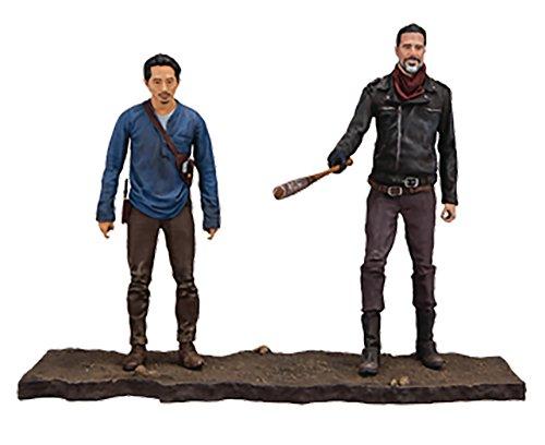 Walking Dead 14518 TV Negan y Glenn Figura de acción, Multicolor, 5 Pulgadas