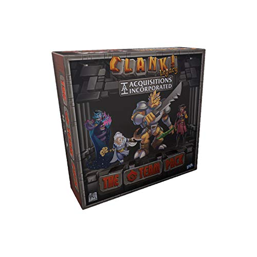 Renegade Game Studios-Clank Legacy: Acquisitions The C Team Pack, Color incoloro (RGS2049)
