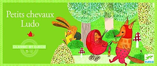 DJECO- Juegos familiaresJuegos tradicionalesDJECOJuegos clásicos Ludo, Multicolor (15)