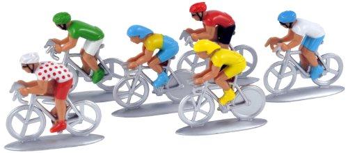 Norev 318991 - Lote de 6 figuritas de Ciclistas