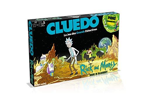 CLUEDO Rick and Morty - Juego de Mesa (versión Francesa)