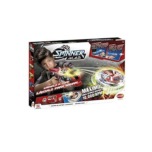 Bizak- Single Shot Blaster Spinner Mad Juguete (62006300)