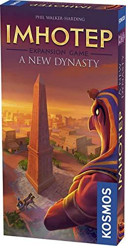 Thames & Kosmos 694067 Pack Imhotep: Una Nueva dinastía (expansión) | La construcción de los monumentos continúa. | Juego Familiar estratégico, 2-4 Jugadores | Edades 10+ |