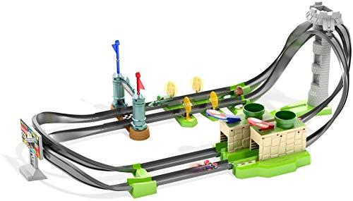 Hot Wheels Mario Kart Pista de coches de juguete para niños +5 años (Mattel GHK15)