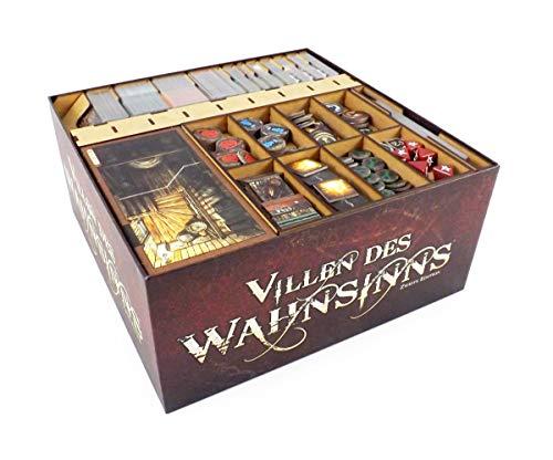 The Game Doctors Organizador de Juegos de Mesa Compatible con Mansiones de la Locura 2ª Edición