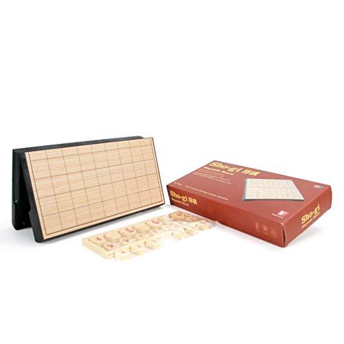 TOYANDONA 1 Unid Plegable Magnético Japonés Shogi Ajedrez Internacional Checker Juego de Mesa Juego de Mesa Juego de Mesa para Niños Adultos