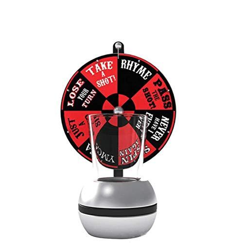 Juego Chupitos Ruleta, Drinking Roulette Set, Ruleta con Vasos de chupito, Embalaje de Regalo Juego de Beber para Adultos