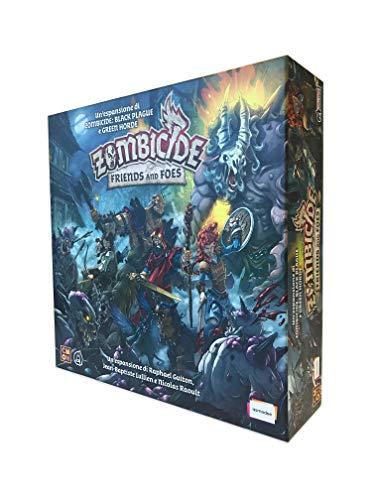 Asmodee - Zombicide Green Horde: Friends and Foes, expansión Juego de Mesa, edición en Italiano, 8439