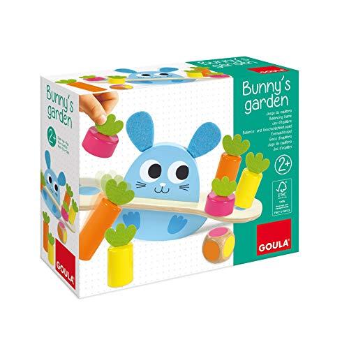 Goula- El jardín de Bunny - Juego de mesa preescolar a partir de 2 años
