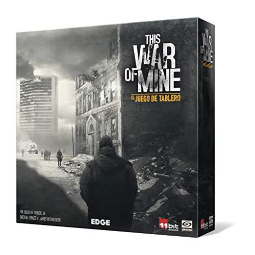 Edge Entertainment- This War of Mine: El juego de tablero - Español, Color (EEGKWM01) , color/modelo surtido