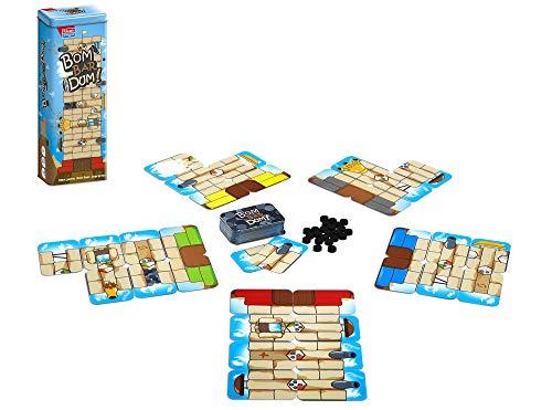 Falomir- Bombardum. Juego de Mesa para fomentar el Pensamiento estrategico. Cartas. (30042)