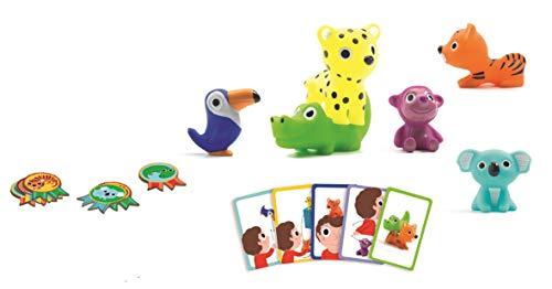 DJECO- Juegos de acción y reflejosJuegos educativosDJECOJuego Little Action, Multicolor (15)
