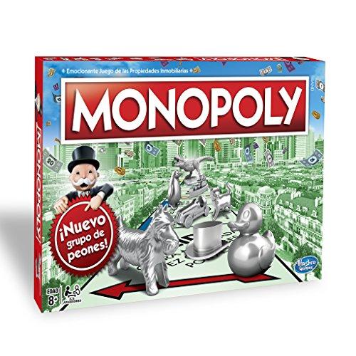 Monopoly - Clásico, Edad recomendada: a partir de 8 años (Hasbro C1009105)