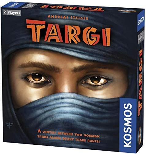 Thames & Kosmos 691479 Targi | Dos tribus nómadas compiten por rutas comerciales | Juego de Estrategia competitiva, 2 Jugadores, Edades 12 +