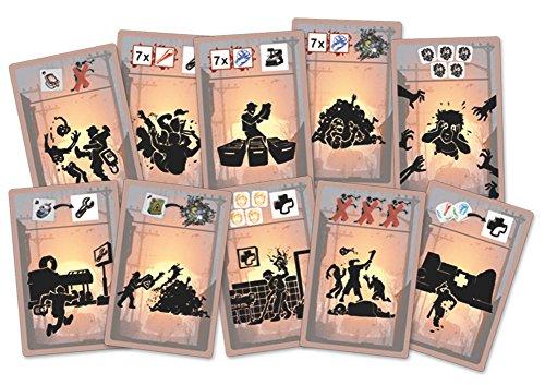 Queen Games Escape Zombie City 46083 - Juego de ampliación de minería