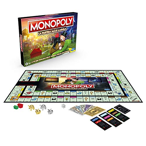 Monopoly- Longest Game Ever, Multicolor (Hasbro E8915105)