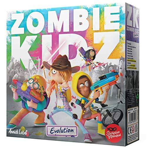 Scorpion Masqué- Zombie Kidz Evolution - Juego de Mesa - Español, Color, Talla Única (SMZKE001)