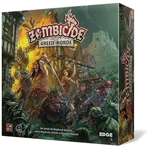 Edge Entertainment- Zombicide: Green Horde - español, Multicolor (EECMZB03)