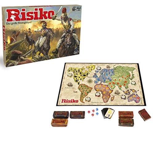 Hasbro B7404 - Risk, Juego de Estrategia, 10 Año(s), 56 Piezas, Caja) , colores/modelos Surtido - Idioma Aleman