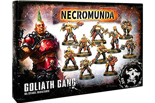 GAMES WORKSHOP Necromunda Goliath Gang - Miniatura