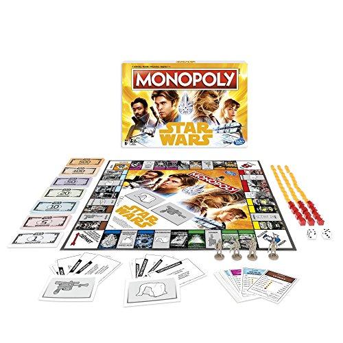 Monopoly E1702 Star Wars Han Solo - Juego de Mesa