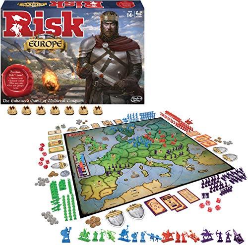 Hasbro Winning Moves Games Risk Europe