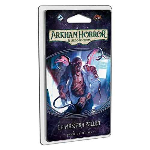 Fantasy Flight Games- Arkham Horror lcg: la máscara pálida - español, Color (FFAHC15)