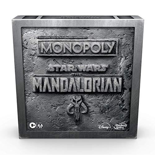 Hasbro- Star Wars el Mandaloriano: Monopoly (20003177958)