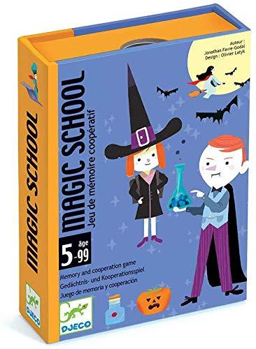 Djeco Cartas Magic School (35144), Multicolor (1)
