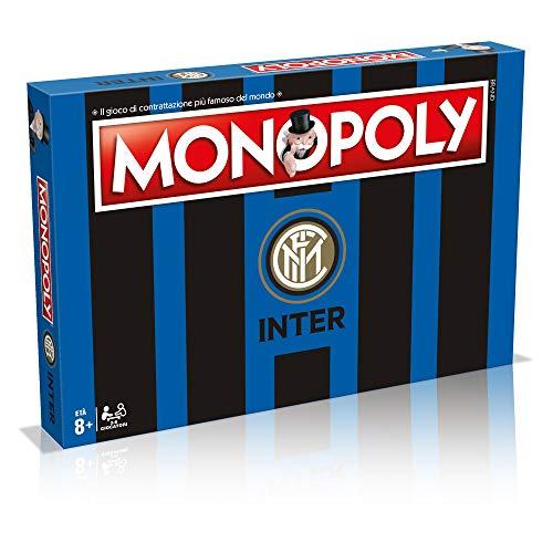Winning Moves 31493 - Juego de Mesa Monopoly de Equipo de fútbol del Inter - Edición de colección, Color 3