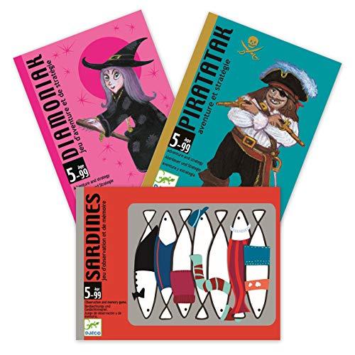 Juego de cartas «Best of Spielkart», Pirataka, Diamoniak, Sardines