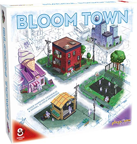 Playagame Edizioni - Bloom Town – Edición italiana.