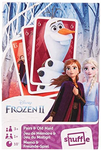 Cartamundi Baraja Infantil Disney Frozen II. Juegos de Cartas 2 en 1