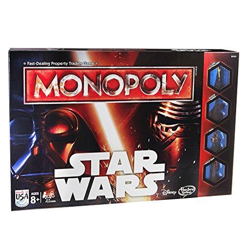 Monopoly Hasbro Edición Star Wars (versión en inglés)
