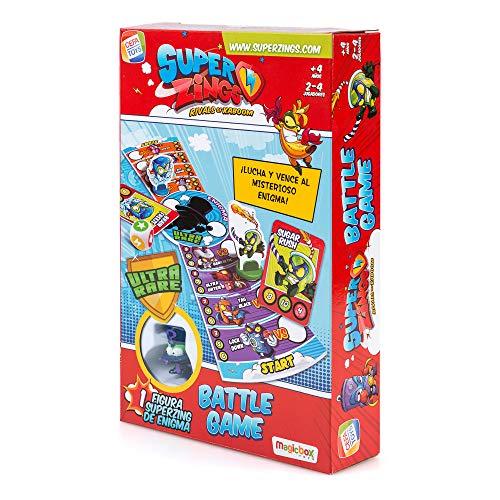 SuperZings- Enigma Juego de Mesa Batt Game Castellano, Multicolor, Talla Única (Cefa Toys 1)