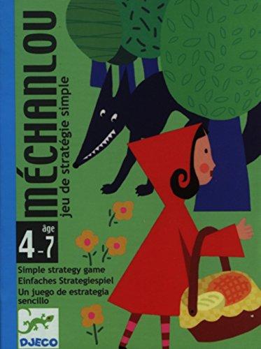 DJECO- Juegos de cartasJuegos de cartasDJECOCartas Mechanlou, Multicolor (36)