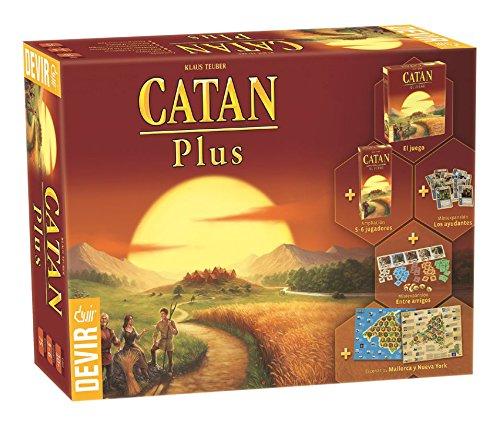 Devir - Catan Plus, juego de mesa (BGCATPLUS)