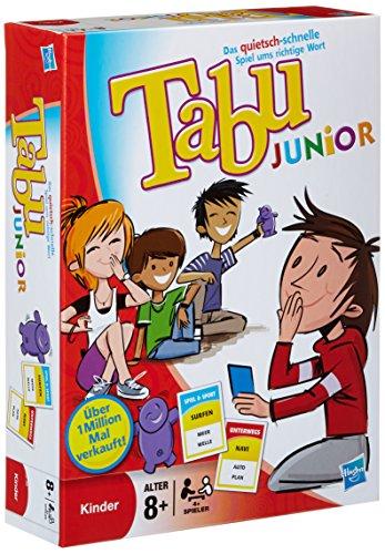 Parker 14334100 - Juego de mesa Tabu Junior (4.ª edición, 2011, en alemán) , color/modelo surtido