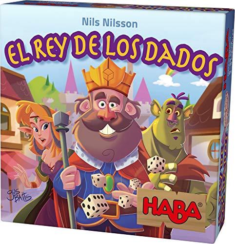 HABA- Juego de Sociedad El Rey de los Dados, Talla Única (Habermass 303805)