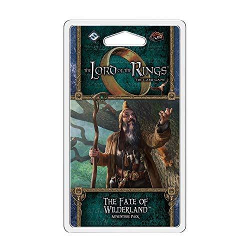 Fantasy Flight Games - Lord of The Rings LCG: El Destino de Wilderland Adventure Pack - Juego de Cartas