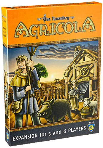 Mayfair Games mfg03516 – de Tablero Agricola Expansion 5 – 6 Players
