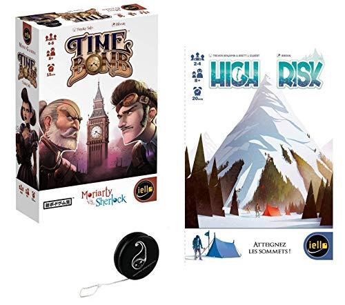 Juego de 2 juegos: Time Bomb + High Risk + 1 Yoyo Blumie.