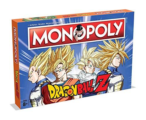 Monopoly Dragón Ball Z - Juego de Mesa (versión Francesa)